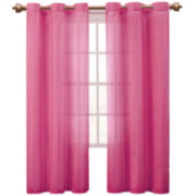 Victoria Classics Abbey Sequence Grommet-Top Sheer Panel