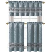 Victoria Classics Ariel 3-pc. Kitchen Curtain Set