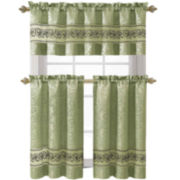 Victoria Classics Ariel 3-pc. Kitchen Curtain Set
