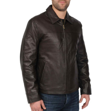 jcpenney.com | New Zealand Lambskin Leather Jacket–Big & Tall