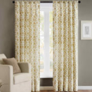 Madison Park Ella Rod-Pocket Curtain Panel