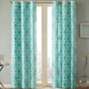 Madison Park Alana Grommet-Top Curtain Panel