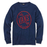 Vans® Long-Sleeve Thermal Graphic Tee – Boys 8-20
