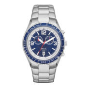 Relic® Thatcher Mens Stainless Steel Chronograph Sport Watch