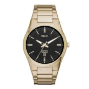 Relic® Sheldon Mens Gold-Tone Stainless Steel Watch