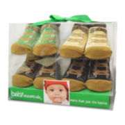 4-pk. Sneaker Socks - Boys One Size