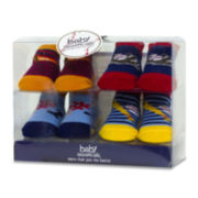 4-pk. Athletic Socks – Boys One Size