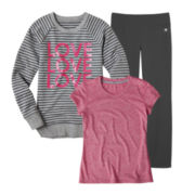 Xersion™ Quick Dri Tee, Sweatshirt, or Yoga Pants - Girls
