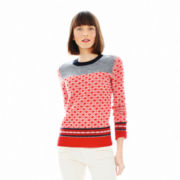 Joe Fresh™ Long-Sleeve Jacquard Sweater
