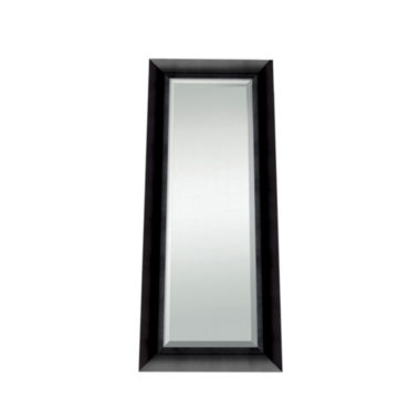 jcpenney.com | Satin Black Beveled Full Length Wall Mirror