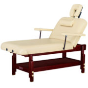 "Master® Massage SpaMaster™ 31"" Stationary Lift Back Massage Table"