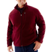 The Foundry Supply Co.™ Full-Zip Plush Fleece Jacket–Big & Tall