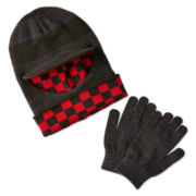 Berkshire 3-Way Hat and Glove Set - Boys One Size