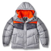Vertical 9 Hooded Puffer Jacket - Boys 6-20