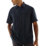 Haggar® Short-Sleeve Microfiber Shirt