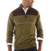 Dockers® Quarter-Zip Colorblock Sweater
