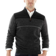Dockers® Quarter-Zip Colorblock Sweater