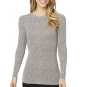 Cuddl Duds® Softwear with Stretch Long-Sleeve Crewneck Tee