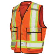 Work King Surveyor Vest–Big & Tall