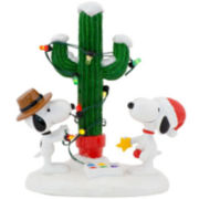 Department 56 Peanuts Village Spike and Snoopy's Christmas