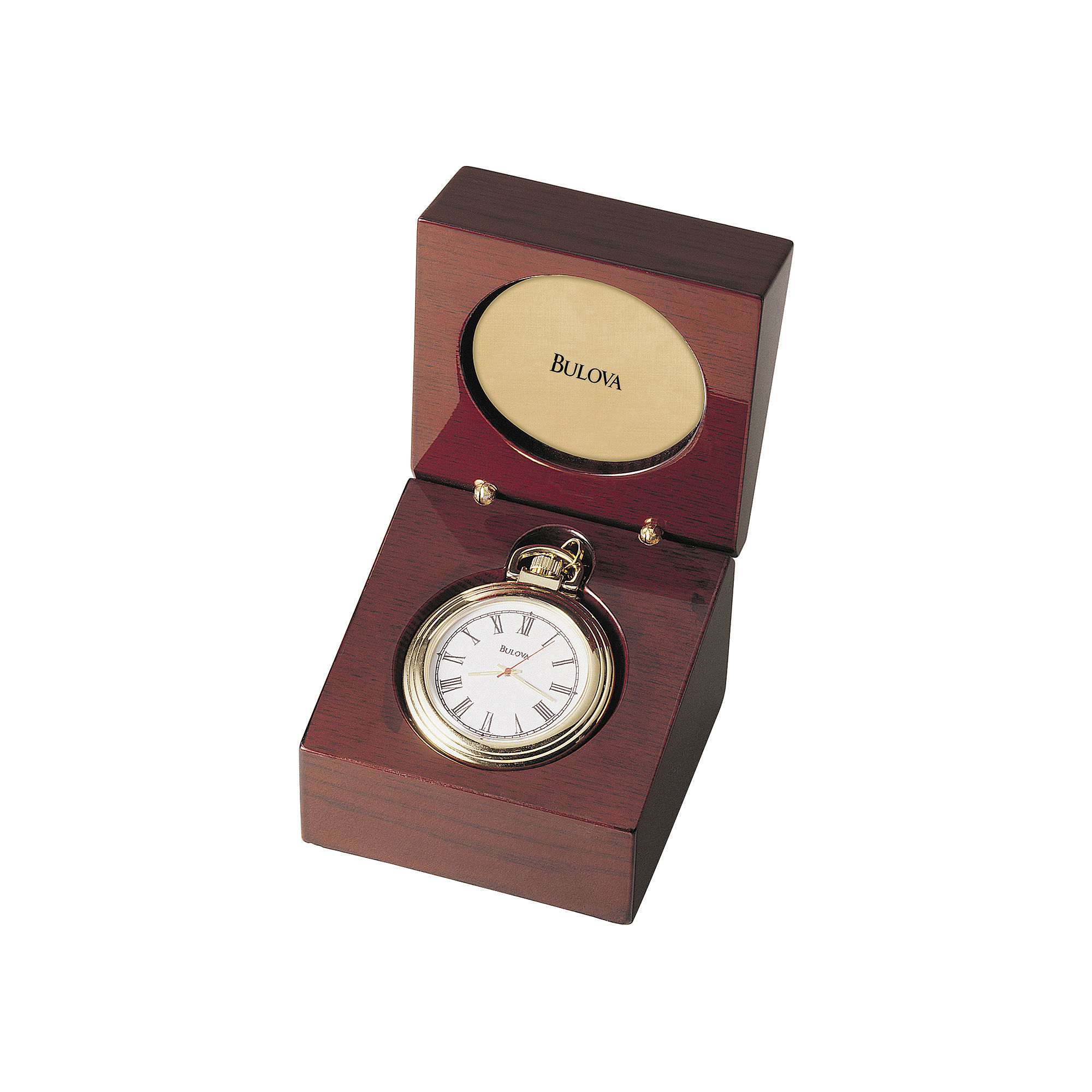 Bulova Aston Convertible Table Clock Pocket Watch