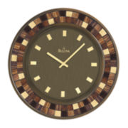 Bulova® Mosaic Wall Clock