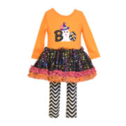 Bonnie Jean® Halloween Top and Leggings - Baby Girls newborn-24m