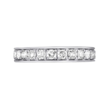jcpenney.com | 1 CT. T.W. Diamond 10K White Gold Wedding Band
