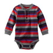 OshKosh B'gosh® Jersey Knit Bodysuit - Baby Boys 3m-24m