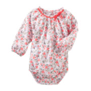 OshKosh B'gosh® Floral Woven Bodysuit - Baby Girls 3m-24m