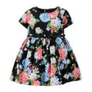 Carter's® Floral Sateen Dress - Baby Girls newborn-24m