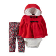 Carter's® 3-pc. Cardigan Set  - Baby Girls newborn-24m