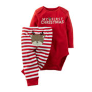 Carter's® Christmas Bodysuit and Pants - Baby newborn-24m