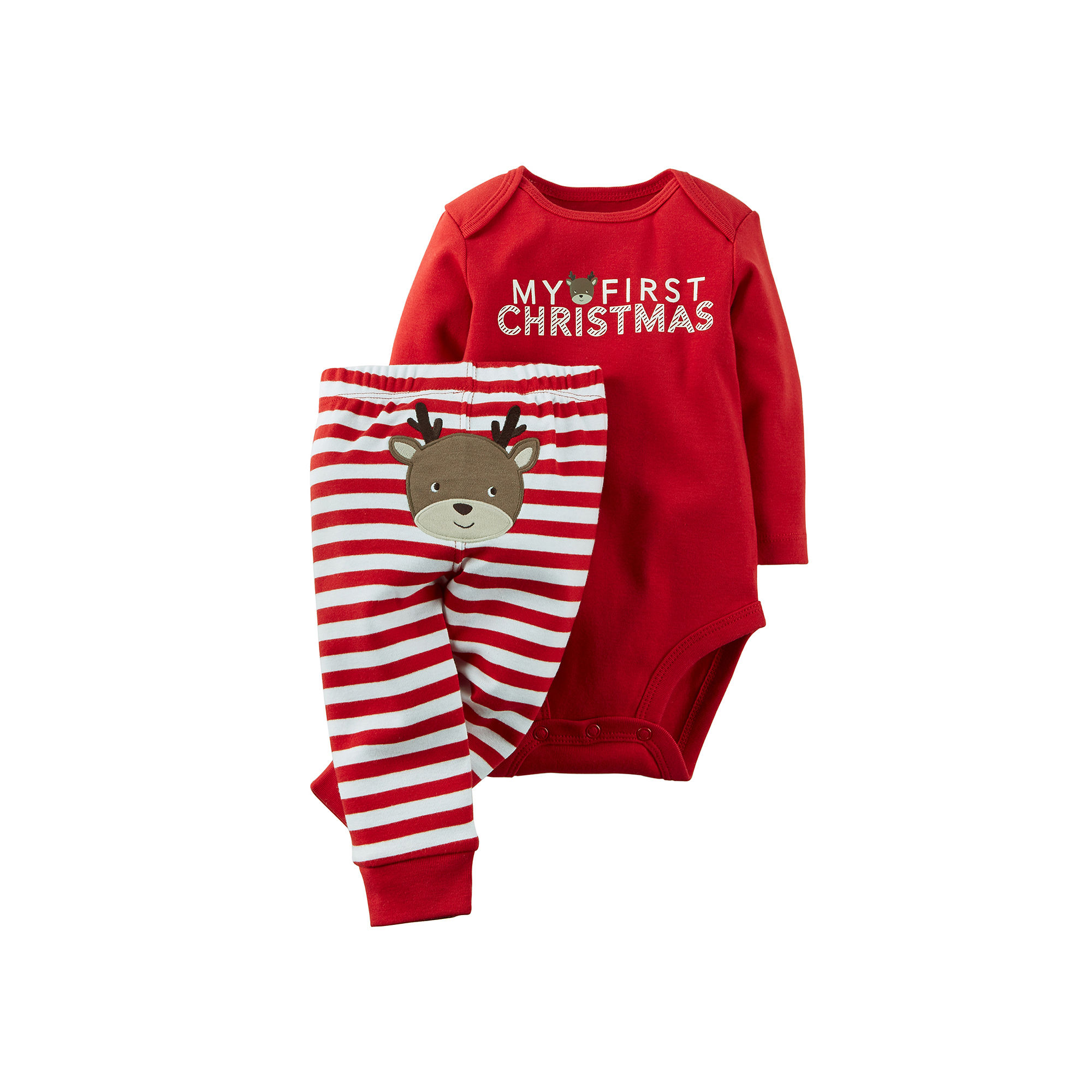 UPC 888510958673 - Carter's Christmas Bodysuit and Pants - Baby ...