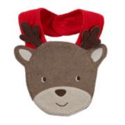 Carter's® Reindeer Terry Bib