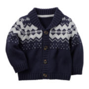 Carter's® Fair Isle Sweater - Baby Boys newborn-24m