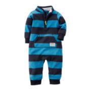 Carter's® Fleece Jumpsuit - Baby Boys newborn-24m