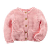 Carter's® Knit Cardigan - Baby Girls newborn-12m
