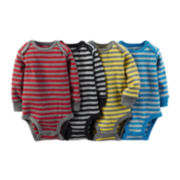 Carter's® 4-pk. Striped Bodysuits - Baby Boys newborn-24m