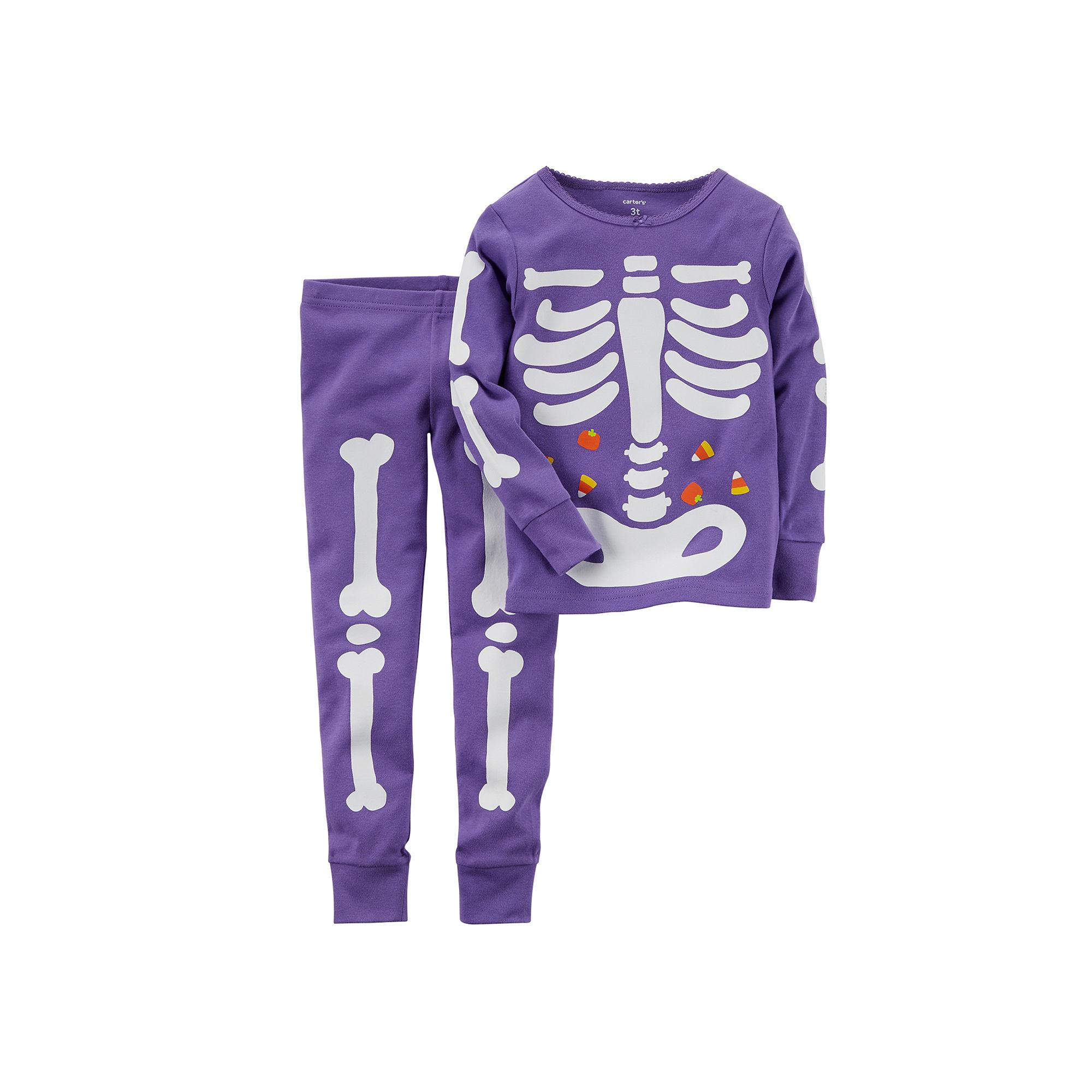 bce0371f8 UPC 888510856290 product image for Carter's Glow-in-the-Dark Skeleton  Pajamas ...