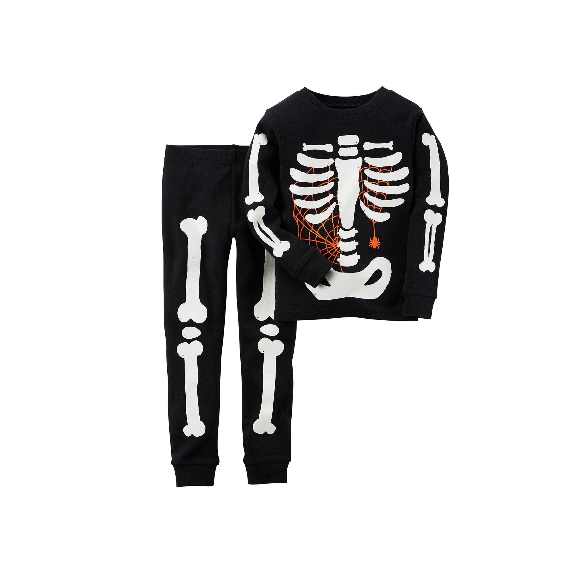 8818f4097 UPC 888510858003 - Carter s Glow-in-the-Dark Skeleton Pajamas ...