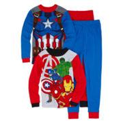 Avengers 4-pc. Pajama Set - Boys 4-10
