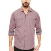 Michael Brandon® End-on-End Woven Shirt