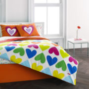 Agatha Ruiz De La Prada Bloom Hearts Comforter Set & Accessories