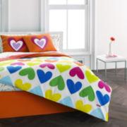 Agatha Ruiz De La Prada Bloom Hearts Comforter Set