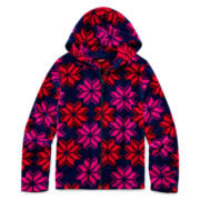Arizona Comfy Fleece Hoodie - Girls 7-16 and Plus