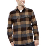 St. John's Bay® Heavyweight Flannel Shirt