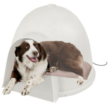 jcpenney.com | Igloo-Style Heated Pet Bed