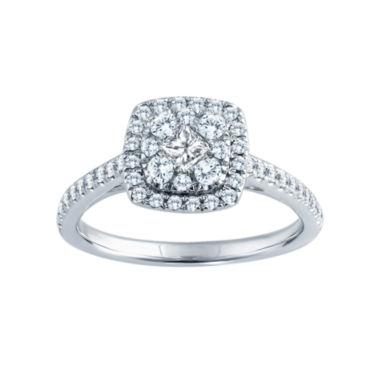 jcpenney.com | 5/8 CT. T.W. Diamond Engagement Ring 14K Gold