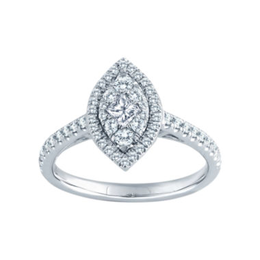 jcpenney.com | 5/8 CT. T.W. Diamond 14K White Gold Marquise Ring